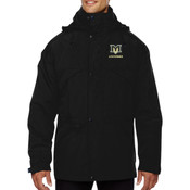 MVE - 88007 Ash City - North End Men's 3-in-1 Parka with Dobby Trim