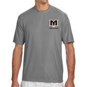 M - N3142 A4 Short-Sleeve Cooling Performance Crew Neck T-Shirt