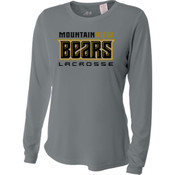 Bears - NW3002 A4 Ladies' Long Sleeve Cooling Performance Crew Shirt