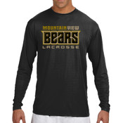 Bears - N3165 A4 Long-Sleeve Cooling Performance Crew Neck T-Shirt