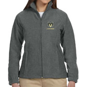 MVE - M990W Harriton Ladies' 8oz. Full-Zip Fleece