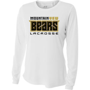 Bears - NW3002 A4 Ladies' Long Sleeve Cooling Performance Crew Shirt Thumbnail