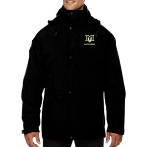 MVE - 88007 Ash City - North End Men's 3-in-1 Parka with Dobby Trim Thumbnail
