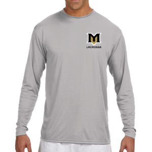 M - N3165 A4 Long-Sleeve Cooling Performance Crew Neck T-Shirt Thumbnail